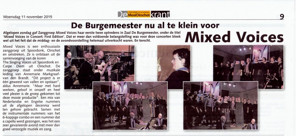 Recensie Concert First Edition