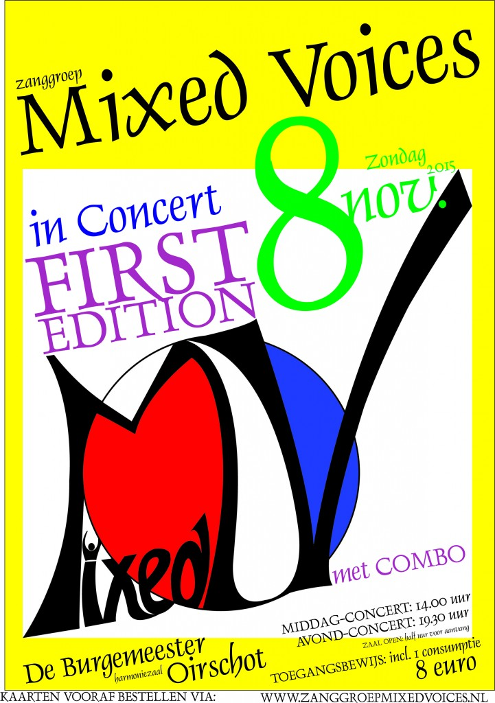 Mixed Voices in Concert - First Edition