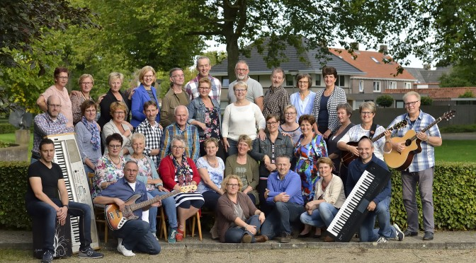 Zanggroep Mixed Voices 19-9-2015